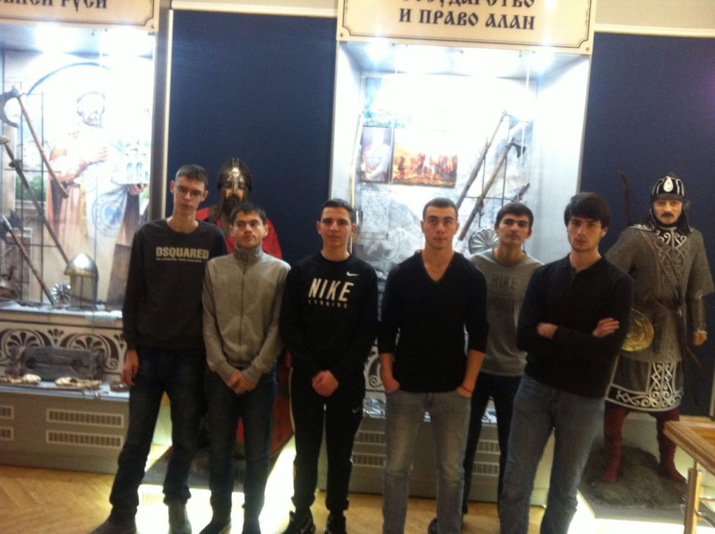 Посещение музея МВД